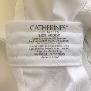 Catherines Intimates & Sleepwear - [Catherine's Intimates] comfortably cool bra 46DDD